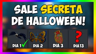 A SALE SECRETA DE 13 DIAS DE HALLOWEEN! [Roblox]