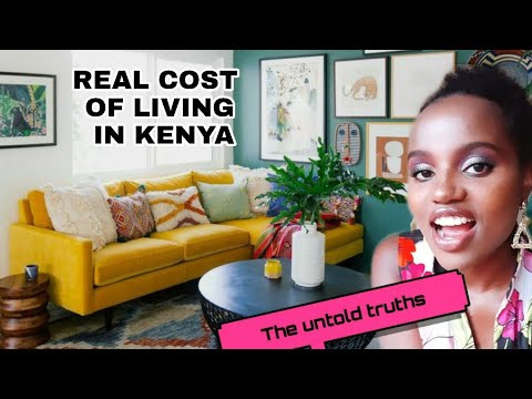 TRUE Cost of Living in Nairobi Kenya Compared to New York USA   Most Developed City in East Africa