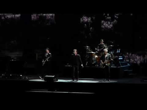 U2 performs I Still Haven