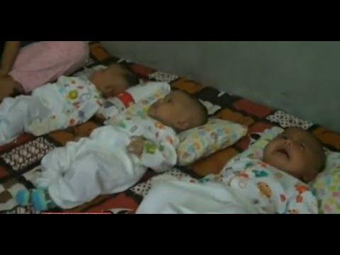 3 Bayi Kembar Terpaksa Tinggal di Rutan Bireun, Aceh