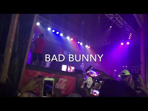 Bad Bunny, J Alvarez, Jory Boy || LIVE FULL CONCERT @ Six Flags Great Adventure HD
