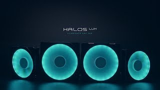 Phanteks' Halos Series RGB fan frames complements any fans without ...