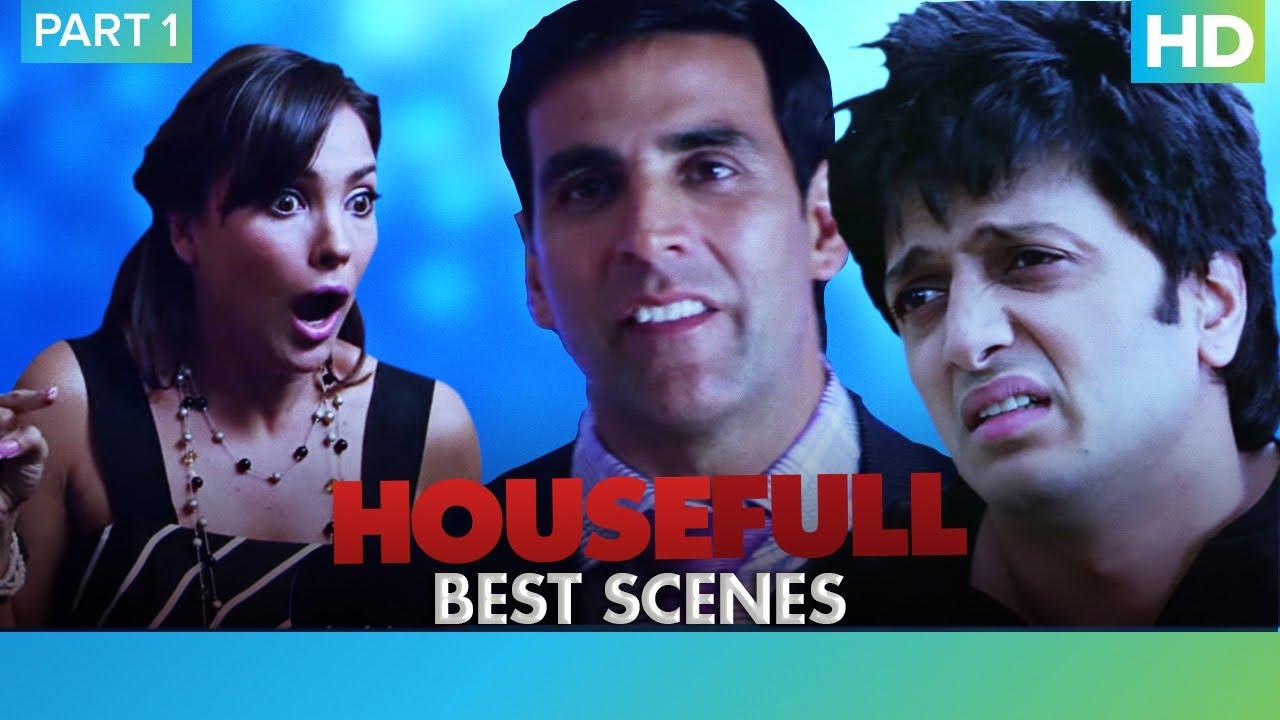 Housefull Movie | Comedy Scenes - Part 1 | Akshay Kumar, Riteish Deshmukh & Sajid Khan