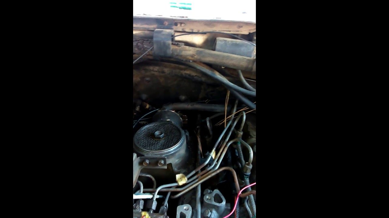 1989 ford f 250 diesel 7 3l idi glow plug solenoid clicking bypass youtube [ 1280 x 720 Pixel ]