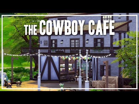 The Sims 4 Speed Build - The Cowboy Cafe
