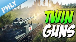 2 Rounds IN THE CHAMBER - Twin GUN Type 60 (War Thunder Gameplay)