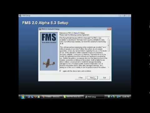 fms flugsimulator  windows 7