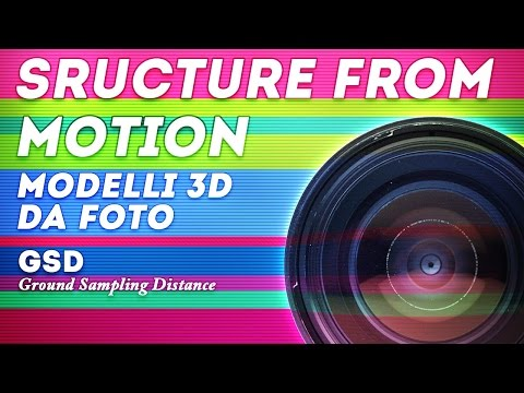 Modelli 3d da foto - GSD - Ground Sampling Distance