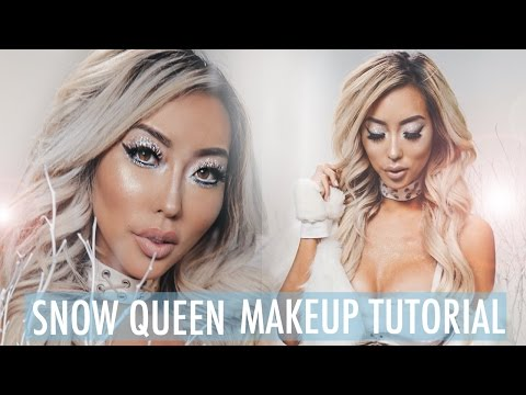 SNOW QUEEN MAKEUP TUTORIAL  Arika Sato