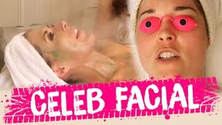 SPECIAL CELEB FACIAL & ZIT POPPING (Beauty Trippin)