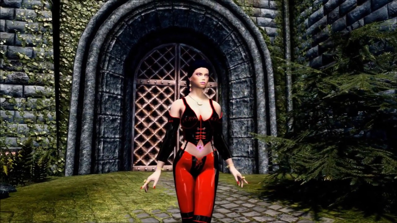 Apachii Bloodrayne Armor SMP Physics SSE by Angie Labelle