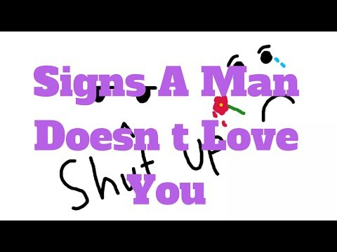 Signs A Man Doesn t Love You