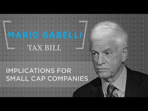 Mario Gabelli Tax bill discussion with Tom Keene