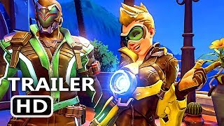PS4 - Overwatch NEW Skins Anniversary Trailer (Seasonal Event, 2018)
