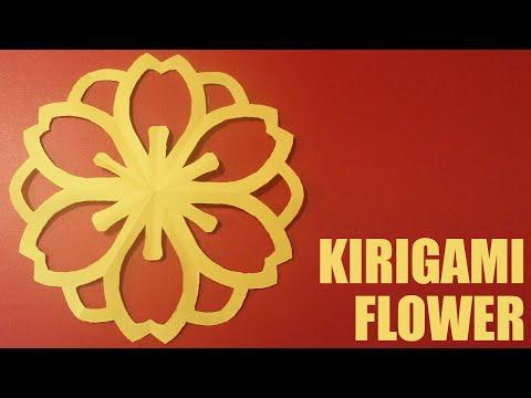 Kirigami Flower Tutorial