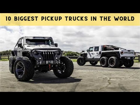 Things That You Don't Know | 10 Biggest Pickup Trucks in the World #shorts