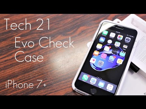 low priced efd79 42a2e Tech 21 Evo Check Case - The Ultimate TPU Case! - White Edition - iPhone 7  / 7 Plus - Review