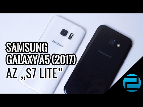 """Samsung Galaxy A5 (2017) teszt - az """"S7 Lite"""""""