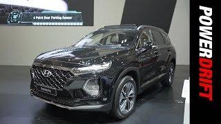 2019 Hyundai Santa Fe : Korea's answer to the Compass : PowerDrift