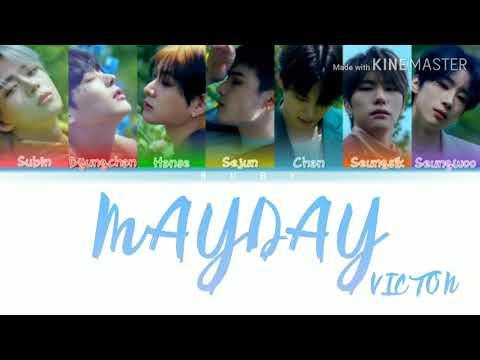 VICTON - 'MAYDAY'(Color Coded Lyrics  Eng/Rom/Han/가사)