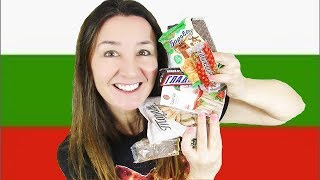 Bulgarian Taste Test Candy Sweets and more