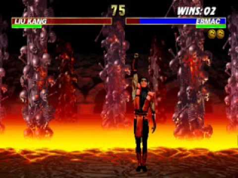 Mortal Kombat - MK1 Ermac VS. MK1 Smoke (CLASSIC BATTLE ...