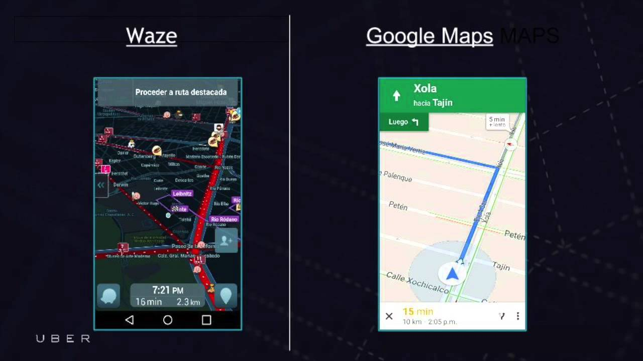 How to use Waze Google Maps - android version
