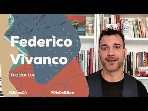 #DíaDelLibro2021   Federico Vivanco
