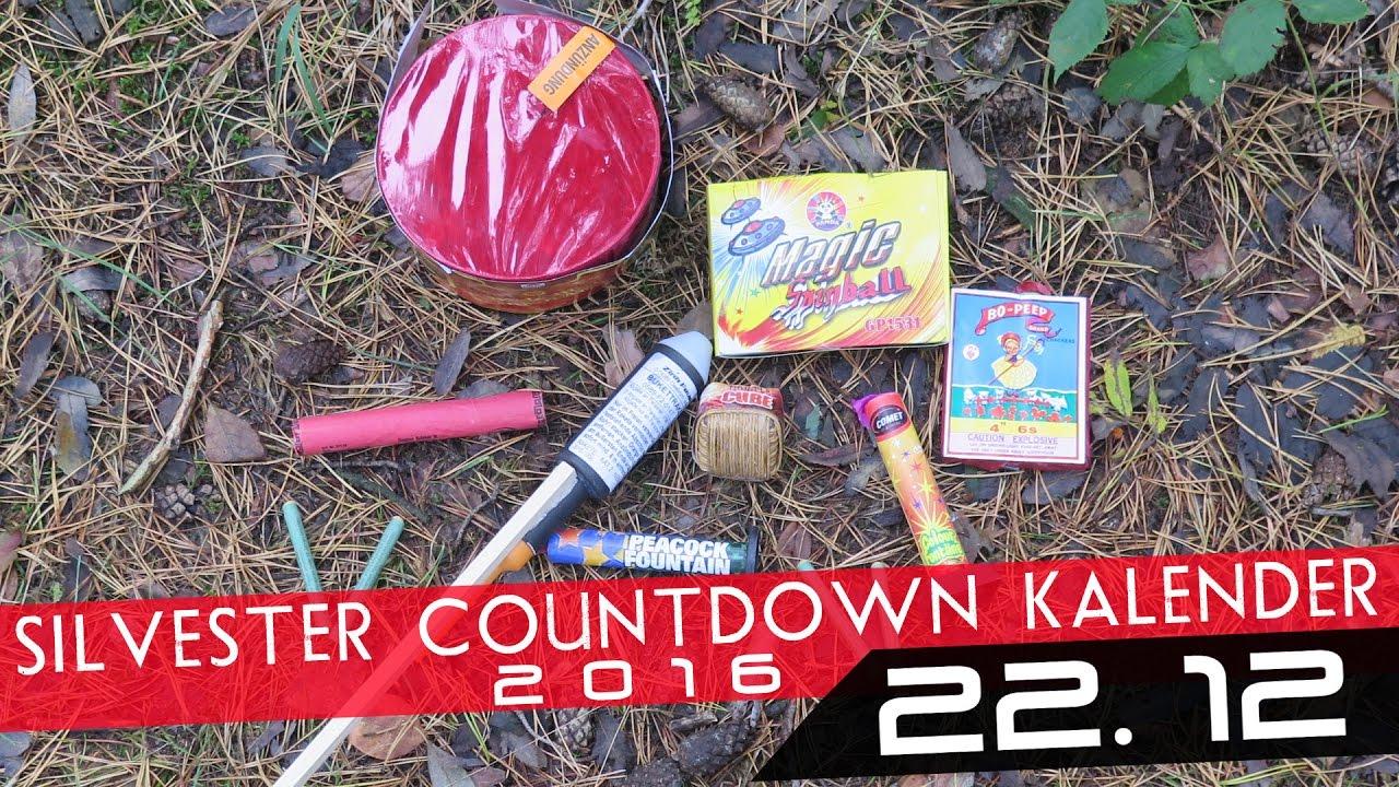 Silvester Countdown Kalender - 22. Dezember *HD* - YouTube