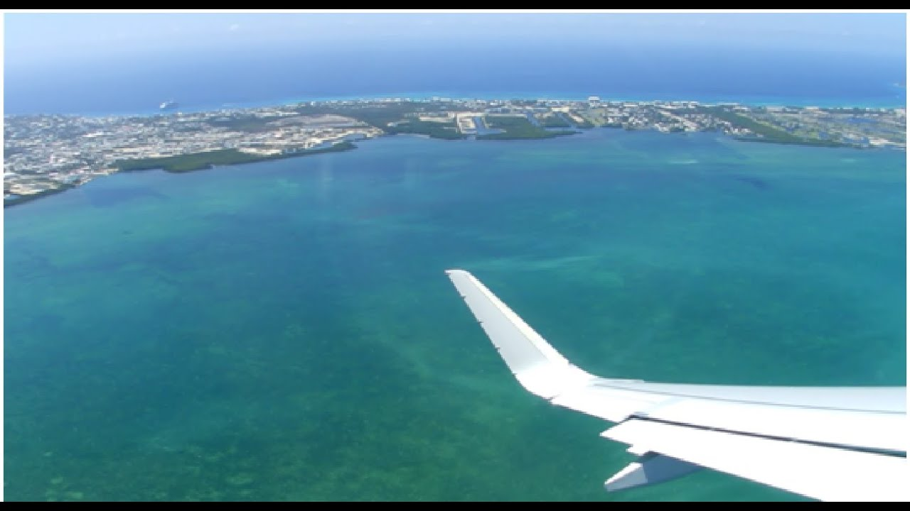 Onboard Departing Grand Cayman To Miami American Airlines