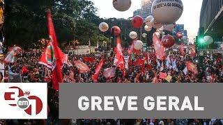 Aumenta a adesão à greve geral de sexta-feira contra reformas de Temer