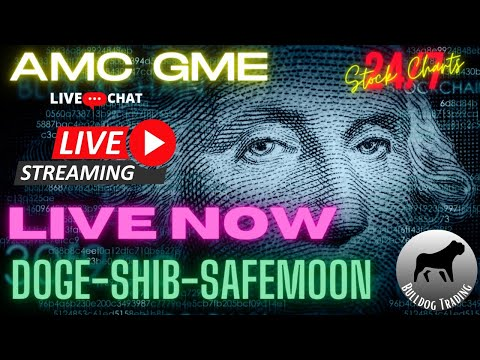 🔴 AMC Stock Squeezing! LIVE* 24/7 Dogecoin Live Chart Prediction w/ Stock Market