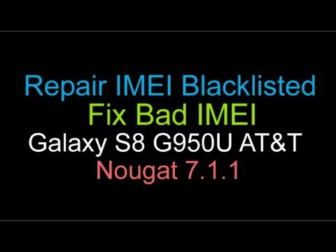 how to fix a blacklisted samsung s8