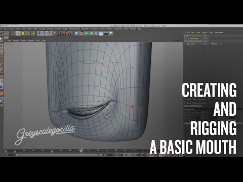 Quick Quick Overview of Rigging a Mouth.