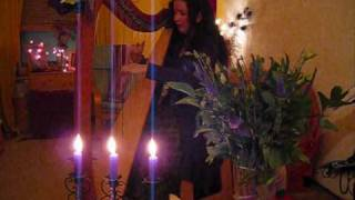 Complainte de la Blanche Biche ~ Celtic harp