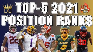 2021 Top NFL Draft Prospect Rankings | Dynasty Fantasy Football