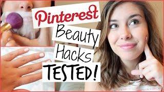 Pinterest Beauty Hacks TESTED!