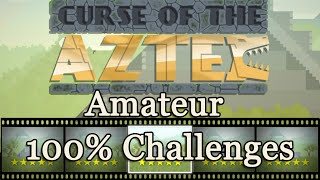 "OlliOlli 2: Welcome to Olliwood - Amateur ""Curse of the Aztec"" 100% Challenges"