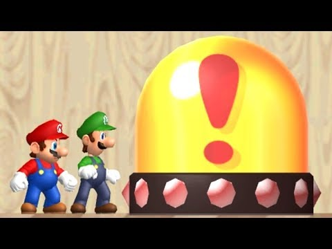 Newer Super Mario Bros Wii Co-Op Walkthrough - Part 1 - Yoshi's Island