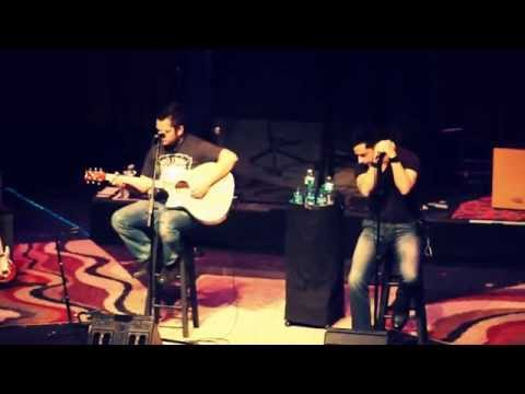 Dead Fish Handshake - Leave The Light On (acoustic Live @ Bergen PAC)