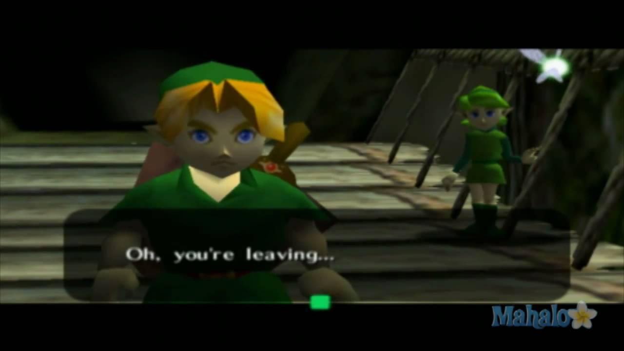 Legend Of Zelda Ocarina Of Time Walkthrough Hyrule Field Youtube