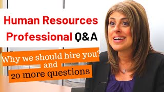 Experienced HR Leader revealed SECRETS to successful job interviews / HR interview answers