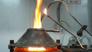 Смотреть видео Метод испытания на воспламеняемость