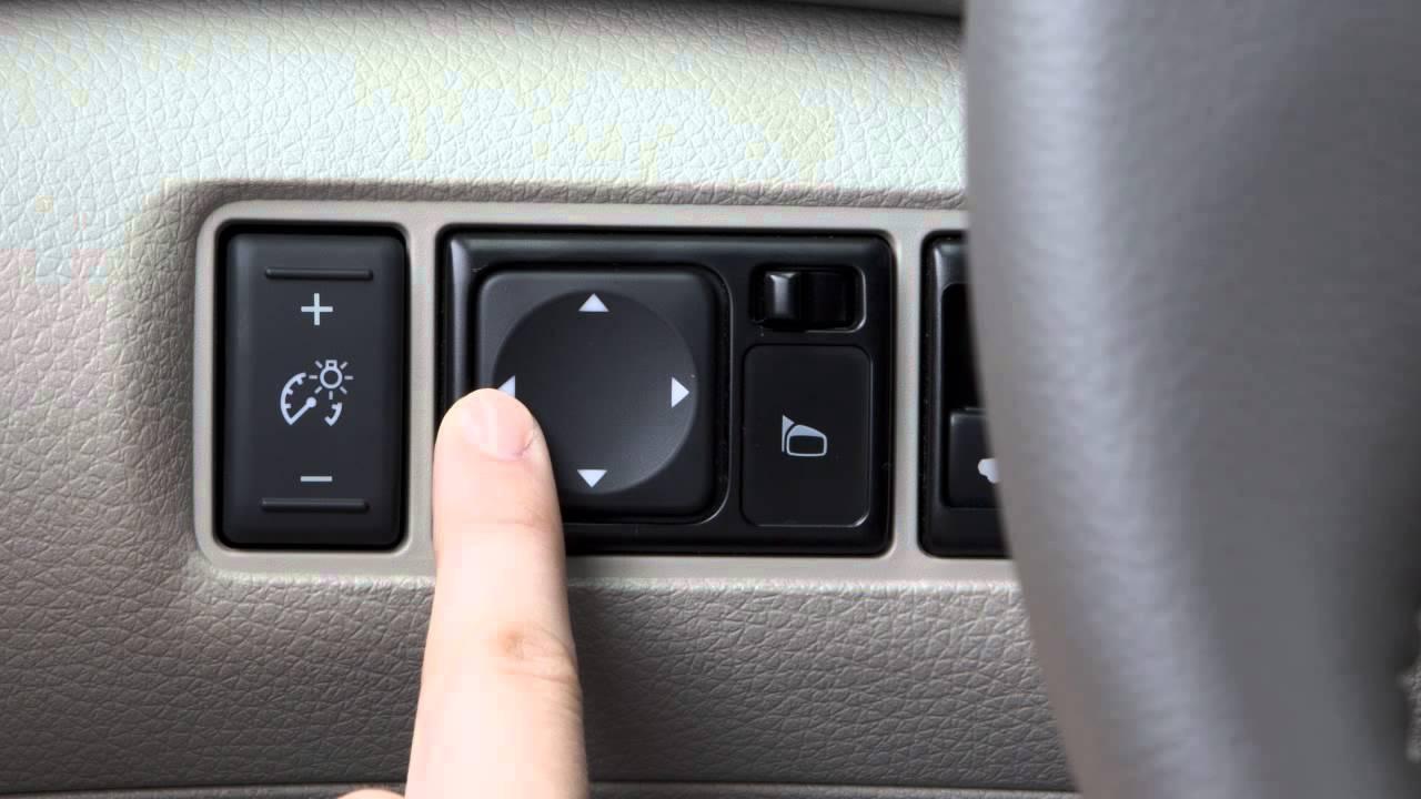 2015 Nissan Sentra Outside Mirror Adjustments Youtube
