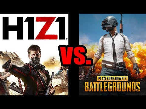 Is H1Z1 As Good As PUBG? (PS4 vs Xbox Gameplay & Commentary)
