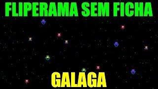 FLIPERAMA SEM FICHA #30 GALAGA