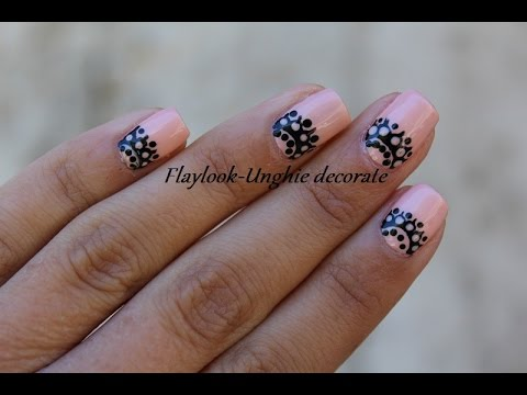 Video tutorial 154 Nail art effetto pizzo, By Flaylook