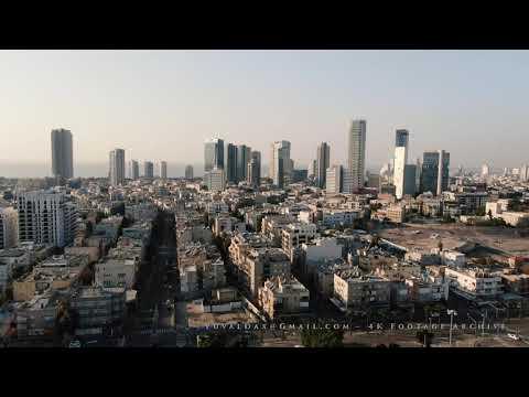 Tel Aviv In Corona Times - Aerial / צילום אויר, תל אביב בימי קורונה