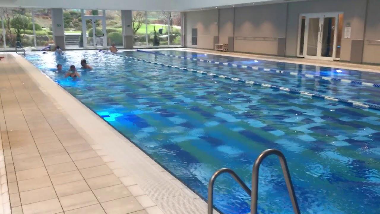 leon s first swim in the deep pool youtube