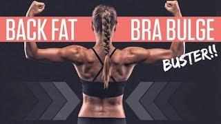 Back Fat & Bra Bulge Workout (SECRET TO LOSING BACK FAT!!)